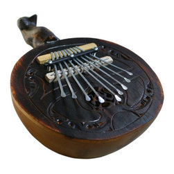 X8 Drums - X8 Drums Gourd Kalimba Thumb Piano - X8-GD-KLB - Shop for Toy Instruments from Hayneedle.com! The X8 Drums Gourd Kalimba Thumb Piano brings Indonesian music right into your home. Your child will love this handcrafted thumb piano and the joyful sounds it makes. About X8 DrumsX8 Drums truly walks to the beat of their own drum. This family-owned company is committed to providing the best selection of high-quality musical instruments with an emphasis on world music percussion instruments. X8 Drums has certainly helped champion ethnic hand drums in the digital age thanks to its founders - a New York City rocker and an internet sage.