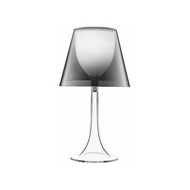 Flos - Flos | Miss K Table Lamp - Clear/Silver - Design by Philippe Starck.