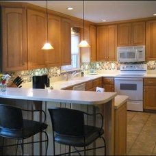 Traditional Kitchen by Creative Spaces Remodeling, LLC