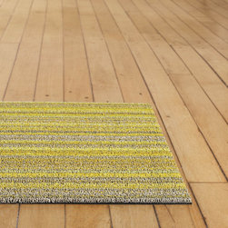 Design Within Reach - Chilewich Shag Doormat, Citron - Add some color to your front step with this welcome mat.