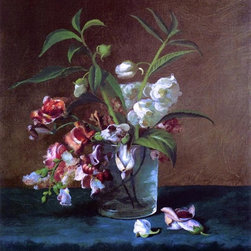 """Carducius Plantagenet Ream Floral Still Life - 16"""" x 20"""" Premium Archival Print - 16"""" x 20"""" Carducius Plantagenet Ream Floral Still Life premium archival print reproduced to meet museum quality standards. Our museum quality archival prints are produced using high-precision print technology for a more accurate reproduction printed on high quality, heavyweight matte presentation paper with fade-resistant, archival inks. Our progressive business model allows us to offer works of art to you at the best wholesale pricing, significantly less than art gallery prices, affordable to all. This line of artwork is produced with extra white border space (if you choose to have it framed, for your framer to work with to frame properly or utilize a larger mat and/or frame).  We present a comprehensive collection of exceptional art reproductions byCarducius Plantagenet Ream."""