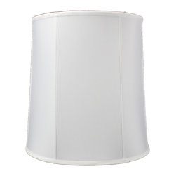 Home Concept - White Drum Shantung Premium Lampshade 14x16x17 - Celebrate Your Home - Home Concept invites you to welcome your guests with our array of lampshade styles that will instantly upgrade your space