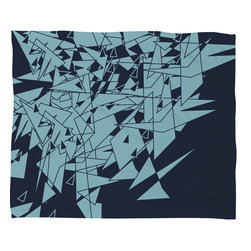 DENY Designs - Matt Leyen Glass Db Fleece Throw Blanket - This DENY fleece throw blanket may be the softest blanket ever! And we're not being overly dramatic here. In addition to being incredibly snuggly with it's plush fleece material, it's maching washable with no image fading. Plus, it comes in three different sizes: 80x60 (big enough for two), 60x50 (the fan favorite) and the 40x30. With all of these great features, we've found the perfect fleece blanket and an original gift! Full color front with white back. Custom printed in the USA for every order.