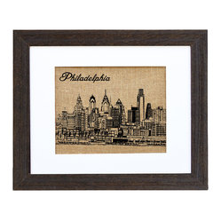 Philadelphia Skyline Art
