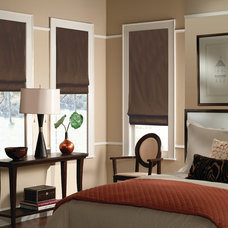 Traditional Roman Blinds by Blindsgalore