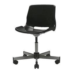 IKEA of Sweden - SNILLE Swivel chair - Swivel chair, black