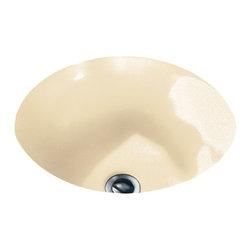 American Standard - Orbit Undercounter Bathroom Sink in Bone - American Standard 0630.000.021 Orbit Undercounter Bathroom Sink in Bone.