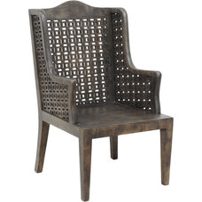 Contemporary Accent Chairs by purehome