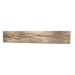 "Punky Hill - Distressed Fireplace Mantle, 54"", Without Ledge (6""x6""), Plain - Punky Hill Distressed Mantles are full of age and character.  All sizes are available from the basic 6"" x 6"" to the 6"" x 6"" with a 3"" x 7"" ledge."