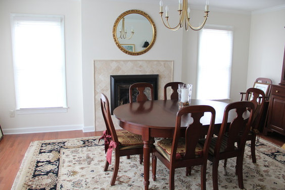 Should I Replace Mirror Above Dining Room Fireplace
