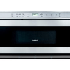 Contemporary Microwave Ovens by Sub-Zero and Wolf