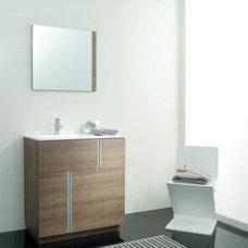 Contemporary Bathroom Travat Vanity
