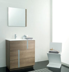 contemporary bathroom Travat Vanity