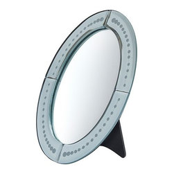 Sarah Fager - BERLEVÅG Table mirror - Table mirror, oval