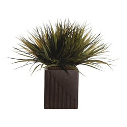 Grass Rectangle Pot - About VickermanThis product is proudly made by Vickerman, a leader in high quality holiday decor. Founded in 1940, the Vickerman Company has established itself as an innovative company dedicated to exceeding the expectations of their customers. With a wide variety of remarkably realistic looking foliage, greenery and beautiful trees, Vickerman is a name you can trust for helping you create beloved holiday memories year after year.