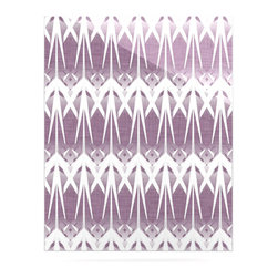 """Kess InHouse - Alison Coxon """"Arrow Lavender"""" Metal Luxe Panel (16"""" x 20"""") - Our luxe KESS InHouse art panels are the perfect addition to your super fab living room, dining room, bedroom or bathroom. Heck, we have customers that have them in their sunrooms. These items are the art equivalent to flat screens. They offer a bright splash of color in a sleek and elegant way. They are available in square and rectangle sizes. Comes with a shadow mount for an even sleeker finish. By infusing the dyes of the artwork directly onto specially coated metal panels, the artwork is extremely durable and will showcase the exceptional detail. Use them together to make large art installations or showcase them individually. Our KESS InHouse Art Panels will jump off your walls. We can't wait to see what our interior design savvy clients will come up with next."""