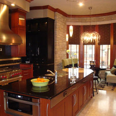 Contemporary Kitchen by Savvy Surrounding Style