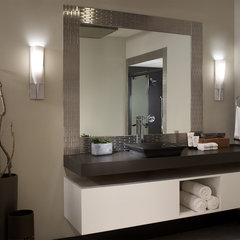 contemporary bathroom by Philips Consumer Luminaires NA