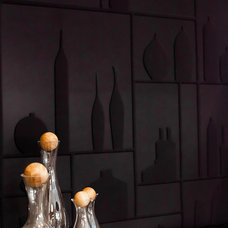 Contemporary Wine Cellar by Natalie Fuglestveit Interior Design