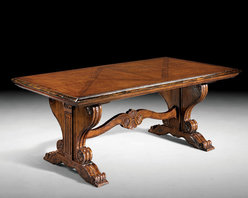 Rustic Extension Dining Table - GV-803 Extension Table