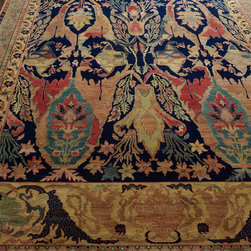 Exquisite Rugs - Exquisite Rugs 'Madigan' Rug - This is a pricey gem, but think of it as a long-term investment. This exotic floral rug is hand knotted, made with vegetable-dyed cotton, and durable enough to last for years and years.