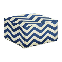 Surya - Surya 24 in. Zig-Zag Square Wool Pouf - POUF168-242413 - Shop for Ottoman & Footstools from Hayneedle.com! For zig-zag energy that never flags add the edgy undulations of the Surya 24 in. Zig-Zag Square Wool Pouf to your contemporary-style interior. This energetic accent is crafted by Indian artisans from beautifully textured 100% wool fabric and is available in your choice of cheerful designer colors.About SuryaSince 1976 Surya has established itself as one of India's leading producers of fine rugs and home goods. Their products are sold in the U.S.A. at respected department and specialty stores. The company is known for its quality value dedication and innovation. This includes responsibility for the entire process of creating home decor - spinning dyeing weaving and finishing. Surya prides itself on using the best raw material available for the production of their rugs throws and decor items. They are proud members of Wools of New Zealand. From design concept through production a Surya family member is involved making sure that the highest standards are being met at each level. Surya works with top designers and constantly updates their designs and color palettes to match and set the trends in design and fashion for the home. Surya always means a fine choice.