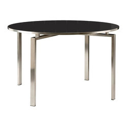 Barlow Tyrie - Mercury Dining Table - Circular - Charcoal