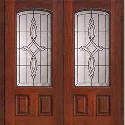 """Prehung Double Door 80 Fiberglass Marsais 2 Panel Arch Lite Glass - SKU#MCT06395_DFAMS2BrandGlassCraftDoor TypeExteriorManufacturer CollectionArch Lite Entry DoorsDoor ModelMarsaisDoor MaterialFiberglassWoodgrainVeneerPrice3410Door Size Options2(32"""")[5'-4""""]  $02(36"""")[6'-0""""]  $0Core TypeDoor StyleDoor Lite StyleArch LiteDoor Panel Style2 PanelHome Style MatchingDoor ConstructionPrehanging OptionsPrehungPrehung ConfigurationDouble DoorDoor Thickness (Inches)1.75Glass Thickness (Inches)Glass TypeDouble GlazedGlass CamingBlackGlass FeaturesTempered glassGlass StyleGlass TextureGlass ObscurityDoor FeaturesDoor ApprovalsEnergy Star , TCEQ , Wind-load Rated , AMD , NFRC-IG , IRC , NFRC-Safety GlassDoor FinishesDoor AccessoriesWeight (lbs)603Crating Size25"""" (w)x 108"""" (l)x 52"""" (h)Lead TimeSlab Doors: 7 Business DaysPrehung:14 Business DaysPrefinished, PreHung:21 Business DaysWarrantyFive (5) years limited warranty for the Fiberglass FinishThree (3) years limited warranty for MasterGrain Door Panel"""