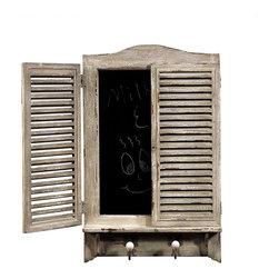 Bassett Mirror - Shuttered Chalkboard - M3312 - Bassett Mirror - Shuttered Chalkboard - M3312