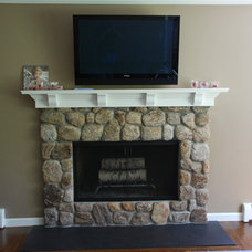 Traditional Fireplaces by Mercer Home Solutions