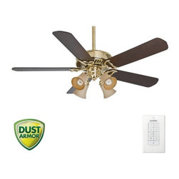 "Casablanca - Casablanca 55061 Panama 54"" 5 Blade Ceiling Fan - Blades and Light Kit Included - Included Components:"