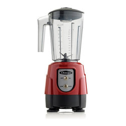 Omega - Omega BL330 Blender - BL330R - Shop for Blenders from Hayneedle.com! The unbreakable Omega BL330 Blender is constructed of ultra-durable Tritan copolyester and includes a 48-ounce container. With a 600-watt motor this compact 1HP blender is equipped with high/low controls along with a recessed coupling system and self-lubricating ball bearings. This blender also includes a removable cap a large metal cooling fan and automatic overload shut-off for your protection.About Omega ProductsFounded by Robert Leo in 1985 Omega Products has been guided by a clear vision for innovative reliable and efficient appliances designed to suit health-conscious consumers. Driven by a passion for healthy living Omega Products include a range of blenders and juicers designed for professional reliable performance that makes them ideal for commercial use. Omega's flagship product the juicer continues to be the only product on the market that offers centrifuge masticating and pulp-ejection technology which ensures the healthiest juice product possible loaded with nutrients and healthy enzymes. Omega has consistently raised the bar in juicer engineering and design and the company's products continue to evolve incorporating the latest technological advancements.