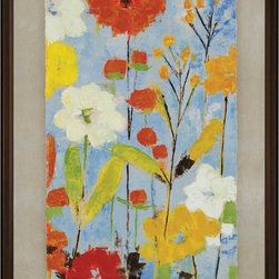 Paragon Decor - Fresh as a Daisy II Artwork - Exclusive Gicl�ee - Hand Painted Accents