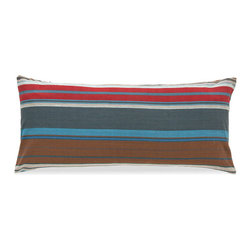 Pine Cone Hill - chalet pillow (15x35) - Warm harvest hues give this cotton decorative pillow an easy, earthy elegance.��This item comes in��multicolor.��This item size is��35w 15h.