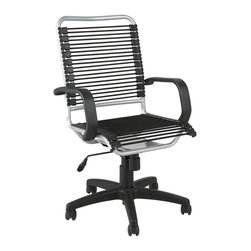 Euro Style - Euro Style Bradley Bungie Office Chair X-94520 - Designed to fit your seat.  And your back.  And your workstyle.  With natural ventilation, the Bungies turn long hours of work into the comfort zone.  No napping!