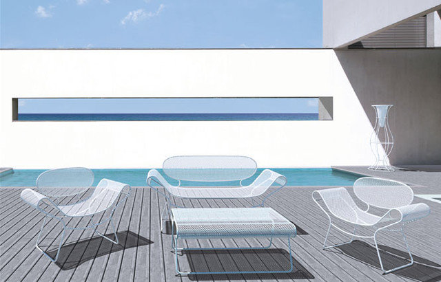 Contemporary Patio Furniture And Outdoor Furniture by Henry Hall Designs