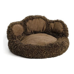 Mid-West Homes for Pets - MidWest Quiet Time Boutique Paw Pet Bed Multicolor - 40270-PWB-1P - Shop for Beds Covers and Fill from Hayneedle.com! Who says animals don t have a sense of humor or self-awareness - certainly not the Midwest Quiet Time Boutique Paw Pet Bed. This adorable paw-shaped bed has a bit of fun with your animal while providing your home with a sense of order within its attractive decor. The durable polyester fabric will stand up easily to your pet acting like an animal while the chocolate brown synthetic-fur texture provides a comfortable soft cushion. The matching polyfiber pillow can be easily inserted or removed to fit your pet s preference and for easy cleaning. When the whole bed starts to look or smell like an animal has been sleeping in it simply throw the whole thing in the washing machine to keep it and your home fresh.About Mid-West Metal ProductsIn 1921 Mid-West Metal Products made only one item a Kruse Switch Box Support and over the years began manufacturing millions of wire and sheet metal component parts. By 1960 they were producing training crates for pets. Today Midwest Homes for Pets a division of Mid-West Metal Products produces and markets a variety of pet containment products. These products include dog crates training puppy crates dog kennels cat playpens bird cages vehicle barriers soft-sided carriers grooming tables and much more. They also manufacture a full line of pet accessories like beds and feeding dishes.