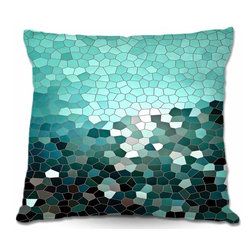 DiaNoche Designs - Pillow Woven Poplin - Patternization IV - Toss this decorative pillow on any bed, sofa or chair, and add personality to your chic and stylish decor. Lay your head against your new art and relax! Made of woven Poly-Poplin.  Includes a cushy supportive pillow insert, zipped inside. Dye Sublimation printing adheres the ink to the material for long life and durability. Double Sided Print, Machine Washable, Product may vary slightly from image.