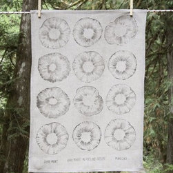Makelike Spore Tea Towel - The Spore Tea Towel by Makelike comes from a true passion for pattern!
