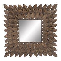 Distinctive Gem Metal Wall Mirror - Description:
