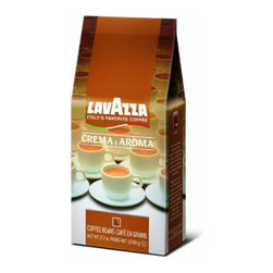 Lavazza - Lavazza Whole Bean 2.2lb, Crema e Aroma - Wishy-washy coffee just doesn't work for you. So brew true intensity at home with these dark, delicious beans. You'll get rich, full-bodied flavor from either a drip device or an espresso machine.