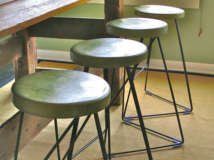 Contemporary Outdoor Stools And Benches by Etsy