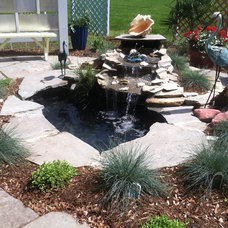 Traditional Landscape by Everything Beautiful Home Designs  LLC