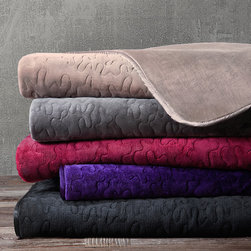 Madison Park - Madison Park Quilted Glimmersoft Throw - Glimmersoft is the ultimate shimmer plush. The nature of the fabric allows for an added sheen,producing a luxurious plush throw. The throw features polyester satin trim and is filled with polyester for extra loft.