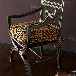 "John-Richard Collection ""Cheetah"" Roman Chair -"