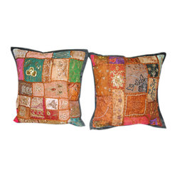 Patchwork Pillow Shams