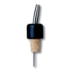 Franmara - Black Marble Pourer with Stainless Steel Spout and Natural Cork Base - This gorgeous Black Marble Pourer with Stainless Steel Spout and Natural Cork Base has the finest details and highest quality you will find anywhere! Black Marble Pourer with Stainless Steel Spout and Natural Cork Base is truly remarkable.