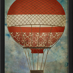 """Hot Air Balloon 5"" Print"