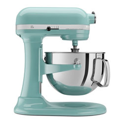 KitchenAid - KitchenAid KP26M1XAQ Aqua Sky 6-quart Pro 600 Bowl-Lift Stand Mixer ** with $50 - You'll love the powerful design of this mixer that will have you cooking for friends and family in no time. For added versatility,the power hub fits optional attachments from food grinders to pasta makers and more.