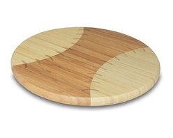 Picnic Time Home Run! Cutting Board - Serve your next cheese platter for the big game on this cutting board. I love the different shades of wood and details of the seams.